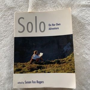 Solo On Her Own Adventure- travel/ outdoor book